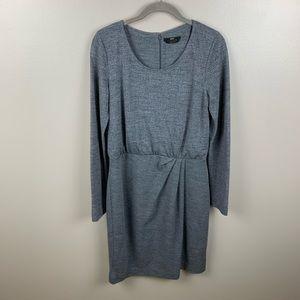 Boss Hugo Boss Long Sleeve Gray Dress